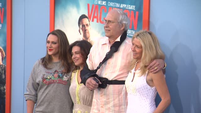 Chevy Chase at the Vacation Los Angeles Premiere at Regency Village Theatre on July 27 2015 in Westwood California