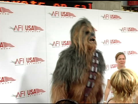 Chewbacca at the 33rd AFI Life Achievement Award 'A Tribute to George Lucas' at the Kodak Theatre in Hollywood California on June 9 2005