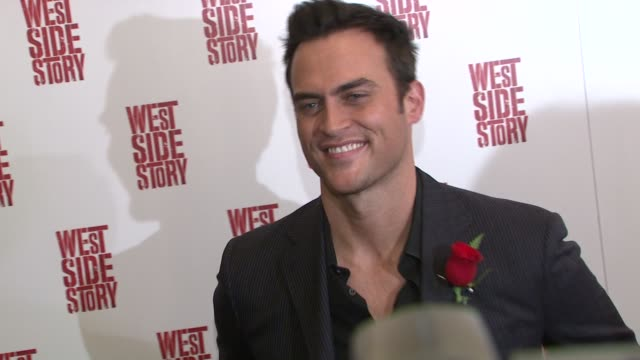Cheyanne Jackson at the 'West Side Story' Broadway Opening Night at New York NY