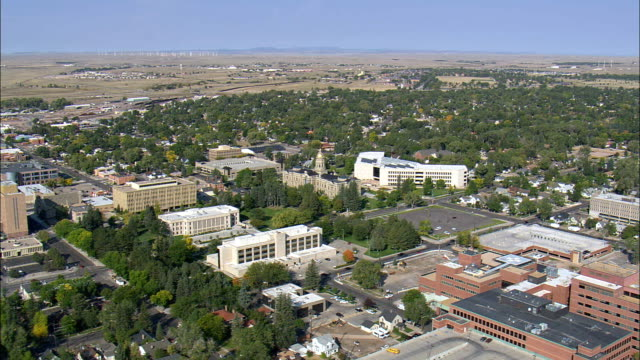 Cheyenne  - Aerial View - Wyoming, Laramie County, United States