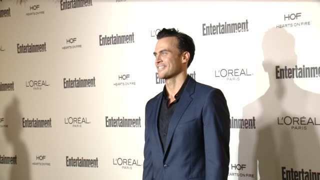 cheyenne jackson at entertainment weekly's preemmy celebration at fig olive melrose place on september 18 2015 in west hollywood california - entertainment weekly stock videos and b-roll footage
