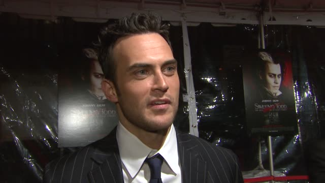 Cheyenne Jackson on what brings him out tonight being a big fan of the play and looking forward to seeing the Tim Burton adaptation about what he...