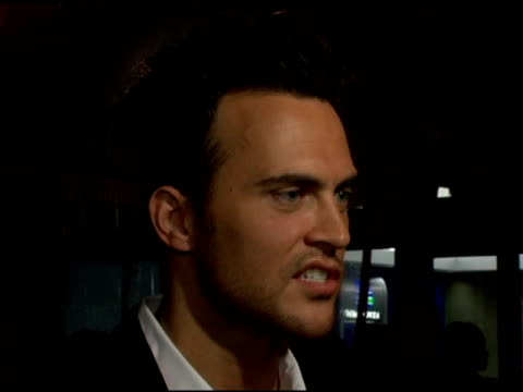 cheyenne jackson, who played passenger mark bingham on 'flight 93', on how important it was to play this role, on how every passenger was well... - passenger 個影片檔及 b 捲影像