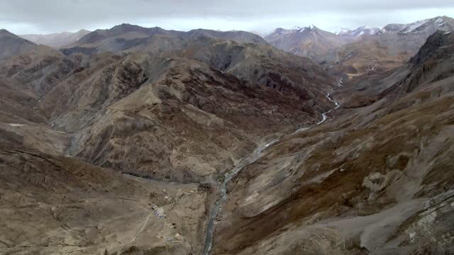 vidéos et rushes de chharka bhot - stream of water / nepal - sec