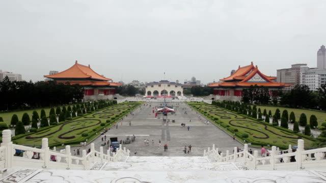 Chiang Kai shek memory hall in Taipei city, Taiwan
