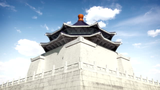 chiang kai-shek memorial hall, taipei, taiwan - chiang kai shek stock videos & royalty-free footage