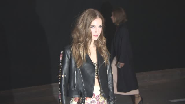 vídeos de stock e filmes b-roll de chiara ferragni at vogue 95th anniversary party on october 3, 2015 in paris, france. - 2015