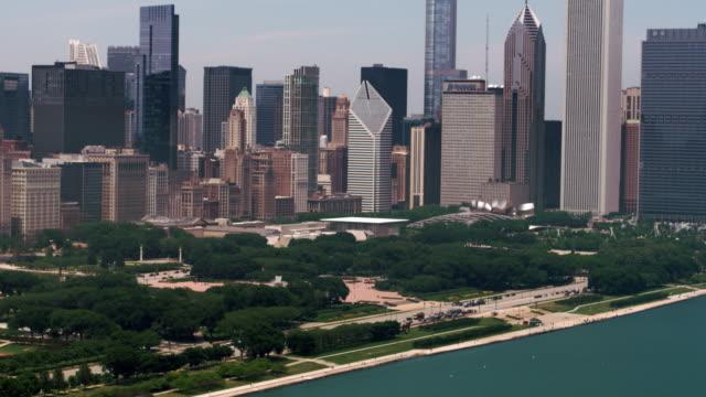 Chicago Aerial Cityscape