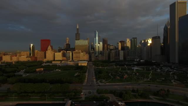 Chicago at Dawn Monroe Drive