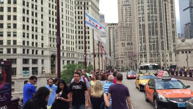 chicago black lives matter protestors gathered on michigan and wacker at the historic fort dearborn site to bring attention to the inequalities of... - dearborn michigan stock videos & royalty-free footage