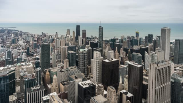 t/l ws chicago downtown skyscraper - willis tower stock videos & royalty-free footage