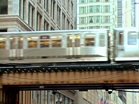 Chicago El treni. Fotogrammi sequenziali