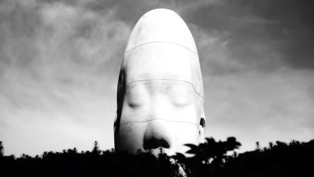 Chicago Head Sculpture