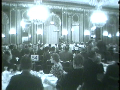 chicago high school principals science conference in 1959 - 1959 stock videos & royalty-free footage