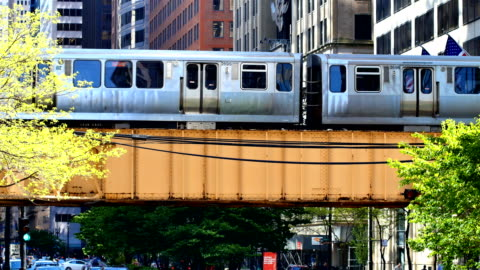 chicago, il subway - subway train stock videos & royalty-free footage
