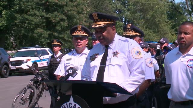 WGN Chicago IL US Chicago Police Supt Eddie Johnson speaks following violent weekend of gun violence on Sunday August 4 2019