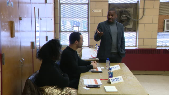 chicago, il, u.s., - comedian hannibal buress hosted pitch competition where entrepreneurs pitched their startups to panel which then picked three... - new business stock videos & royalty-free footage