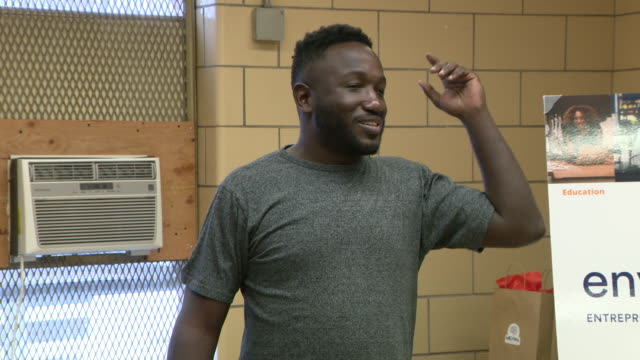 wgn chicago il us comedian hannibal buress hosted pitch competition where entrepreneurs pitched their startups to panel which then picked three... - competition stock videos & royalty-free footage