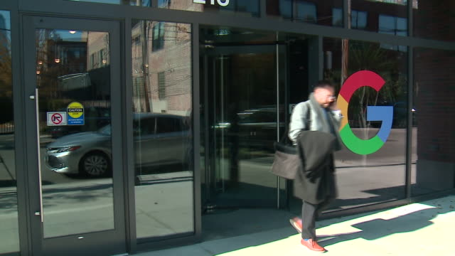 wgn chicago il us exterior of chicago google office on thursday november 7 2019 - office block exterior stock videos & royalty-free footage
