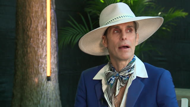 chicago, il, u.s. - interview with perry farrell, creator of lollapalooza, at 2019 lollapalooza festival, on thursday, august 1, 2019 - fashionable stock videos & royalty-free footage
