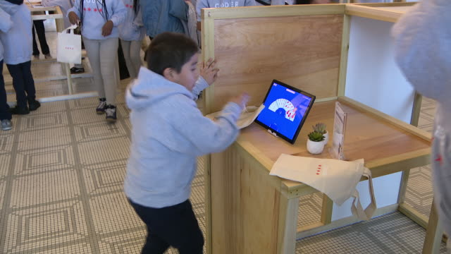 chicago, il, u.s. - scenes from chicago public school during event with chance the rapper's new coding project, on monday, decemder 9, 2019. - elementary school stock videos & royalty-free footage