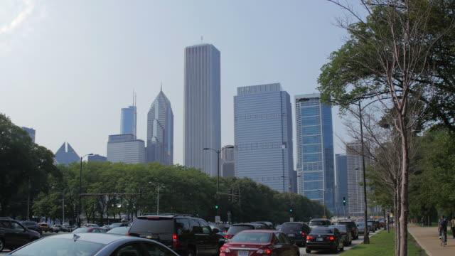 シカゴ(イリノイ州) - グラントパーク点の映像素材/bロール