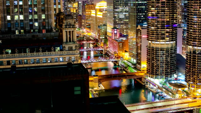 chicago, il - chicago loop stock videos and b-roll footage
