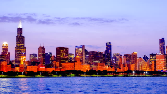 chicago, il - willis tower bildbanksvideor och videomaterial från bakom kulisserna