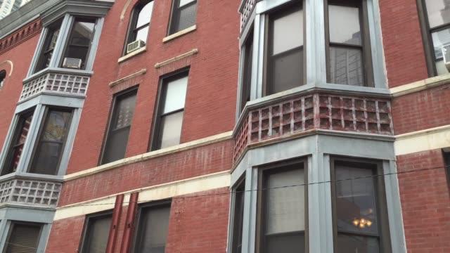 chicago (illinois) - kamerafahrt mit dolly stock-videos und b-roll-filmmaterial