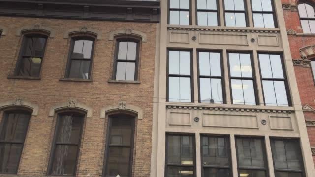 美國伊利諾斯州芝加哥 - 跟拍鏡頭 個影片檔及 b 捲影像