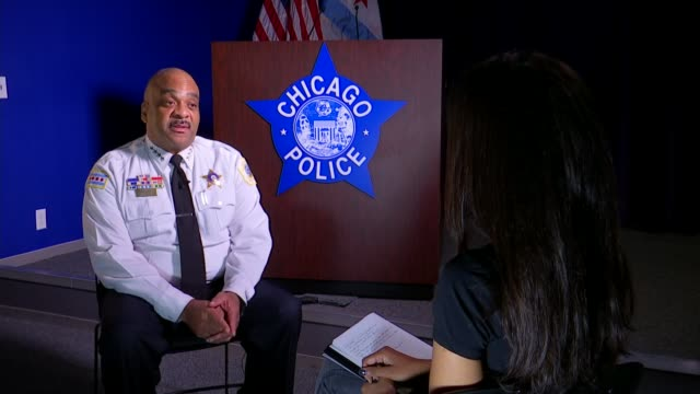 'Chicago Lessons from the City' Can London learn how to tackle violent crime problem from Chicago USA Illinois Chicago Driving point of views /...