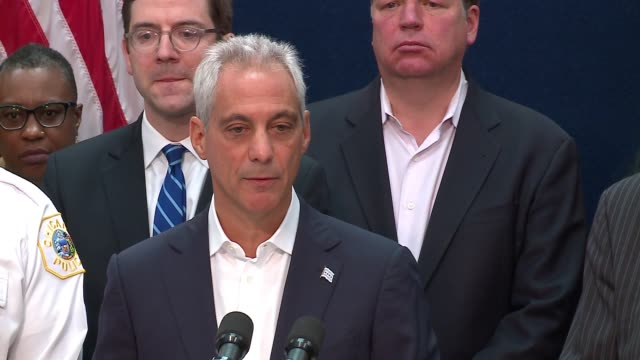 WGN Chicago Mayor Rahm Emanuel announced the city was filing a federal lawsuit against President Donald Trump's Justice Department claiming it's...