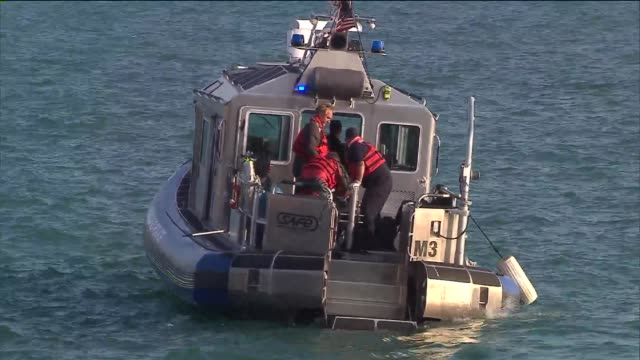 wgn chicago police boat on june 19 2013 in chicago illinois - police boat stock videos and b-roll footage