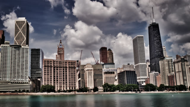 Chicago skyline and waterfront