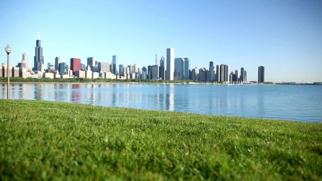 Chicago Skyline - Sunny Summer