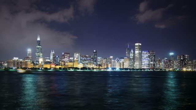 stockvideo's en b-roll-footage met chicago skyline, usa - willis tower