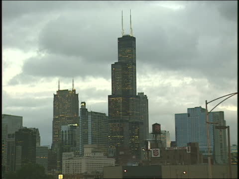 chicago skyline - 1996 stock videos & royalty-free footage