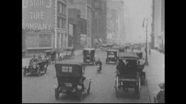 chicago streets - 19th century style stock videos & royalty-free footage