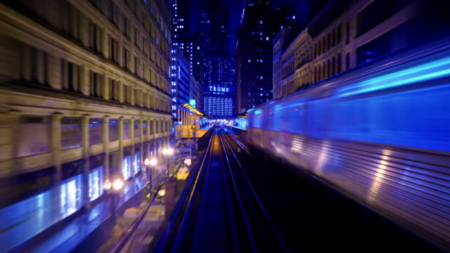 chicago subway - travel destinations stock videos & royalty-free footage