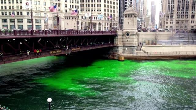 chicago - michigan avenue bridge stock videos and b-roll footage