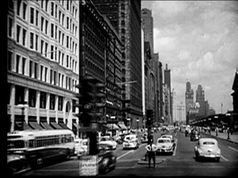 1947 - chicago - anno 1947 video stock e b–roll