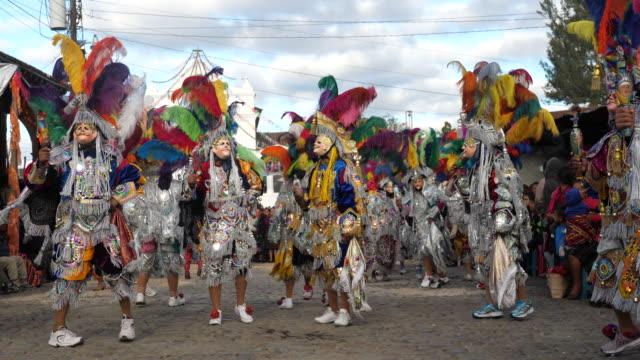 chichicastenango, festival of santo tomás – chichicastenango, guatemala. - lateinamerika stock-videos und b-roll-filmmaterial