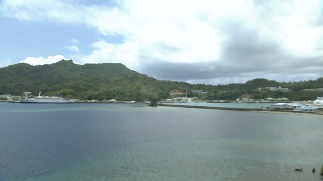 chichijima of ogasawara islands, tokyo, japan - insel honshu stock-videos und b-roll-filmmaterial