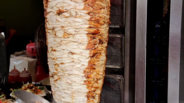 chicken kebab. - kebab stock videos and b-roll footage