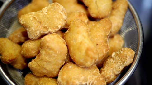 chicken nuggets - buffet stock videos & royalty-free footage