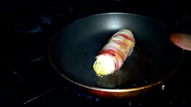 Kyckling RULAD stekt