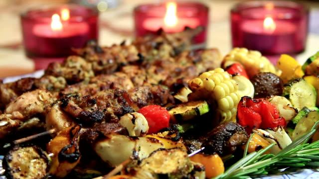 BBQ Chicken Shish Kebab Ready to Eat