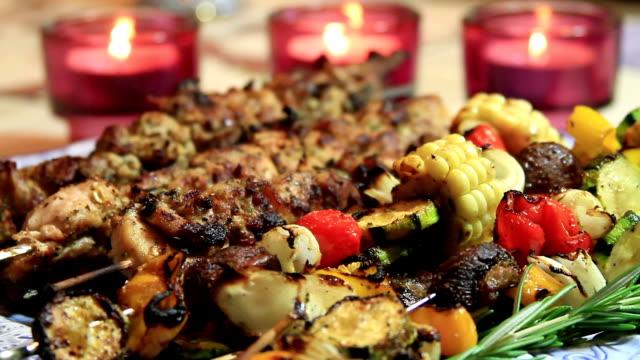 BBQ Chicken Shish Kebab Ready-to-Eat