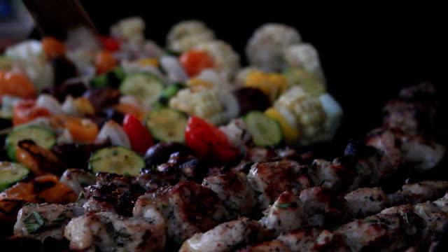 BBQ Poulet Shish Kebab