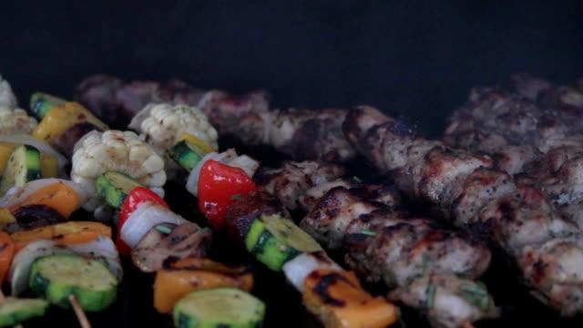 BBQ Chicken Shish Kebab